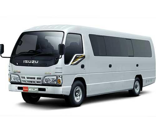 Rental Sewa Mobil Bus Pariwisata Bandung Elf (Micro Bus) Long
