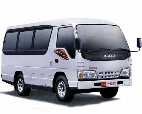 Rental Sewa Mobil Bus Pariwisata Bandung Elf (Micro Bus) Short